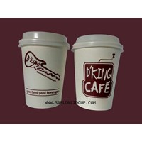 Sablon Paper Cup Hot 8 oz
