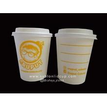 Sablon Paper Cup Hot 8 oz ( Gelas Kopi )