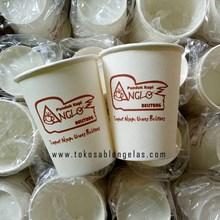 Sablon Paper Cup Hot 8 oz ( Cup Kopi )