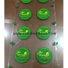 Sablon 2 warna Plastik Lid Sealer 2 line