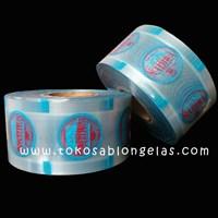 Jual Sablon Plastik Lid Cup ( Kemasan air mineral )