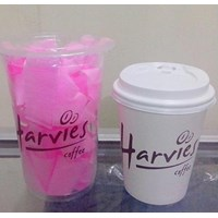 Sablon Paper cup 8oz dan Gelas Plastik 1