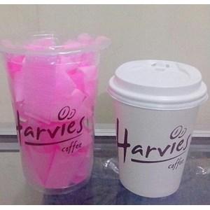 Sablon Paper cup 8oz dan Gelas Plastik