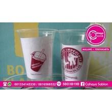 Sablon Gelas Plastik ( Cup plastik )