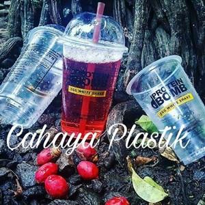 Sablon Gelas Plastik 16 oz 7 gram 2 Warna