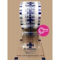 Sablon Plastik Lid Sealer 1 warna (Cup Standard) 1