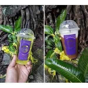 Sablon Gelas Plastik 16 oz 8 gram