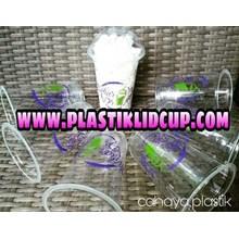 Sablon Gelas Plastik 16 oz 2warna