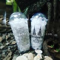 Sablon Gelas Plastik Thai Tea 22oz