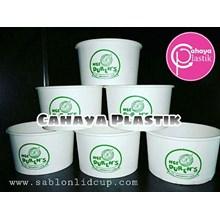 Sablon Paper Cup Bowl / soup 12 oz