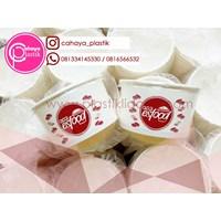 Sablon Paper Bowl 12 oz + Tutup 1