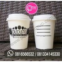 Sablon Paper Cup 8 oz (2 sisi)