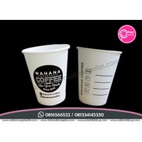 Sablon Paper Cup 8 oz Hot (cup coffee)