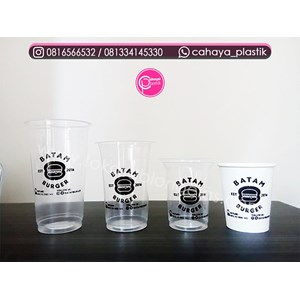 Sell 22 oz polycup cup screen printing 16 oz gki 12 oz gki 9 oz