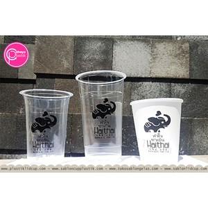 Sablon Gelas Plastik mix Paper cup