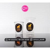 Sablon mix 14 oz 6 gram dan paper cup 9 oz  1