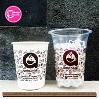 Sablon Cup Plastik 14 oz 6 gramdan Paper Cup 9 oz Hot 1