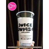 Sablon cup 22 oz starindo tanpa tutup (CUP JUICE JUMBO)