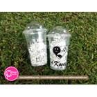Sablon cup gelas plastik 16 oz 7 gram 1