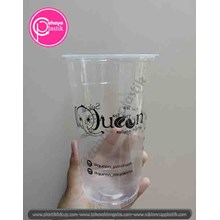 Sablon cup plastik PP 22 oz starindo tanpa tutup