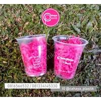 Sablon cup 12 oz 8 gram tanpa tutup