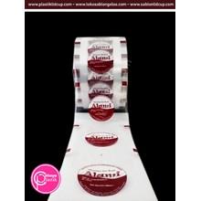 Sablon custom lid sealer kemasan 13 cm x 500 m