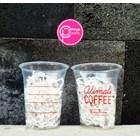 Sablon cup plastik 12 oz 8 gram PP (coffee cup) 1
