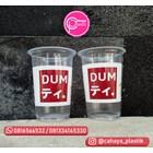 Sablon 2 warna cup 16 oz 8 gram tanpa tutup  1