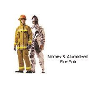 Nomex And Aluminized Fire Suit