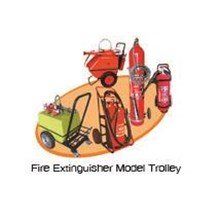 Fire Extinguisher Model Trolley