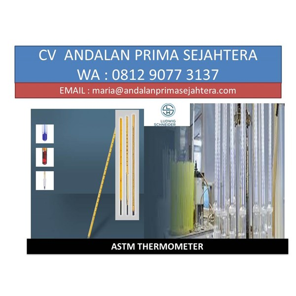 ASTM-thermometer 80 F