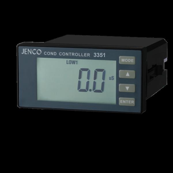 Jenco 3351 Conductivity, resistivity, temperature in-line controller