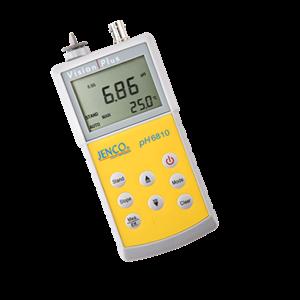 Jenco 6810 pH/mV/Temp. Meter