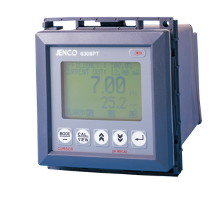Jenco 6308PT pH Analyzer/ Monitor/ Controller and Transmitter