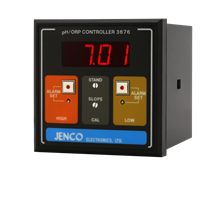 Jenco 3676 pH/ORP Controller/Transmitter