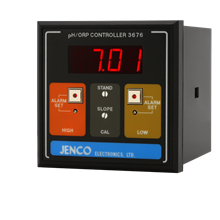Jenco 3676 pH/ORP Controller/Transmitter