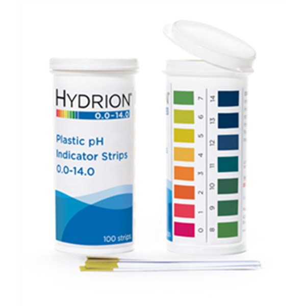 Jual Hydrion (9800) Spectral 0-14 Plastic pH Strip