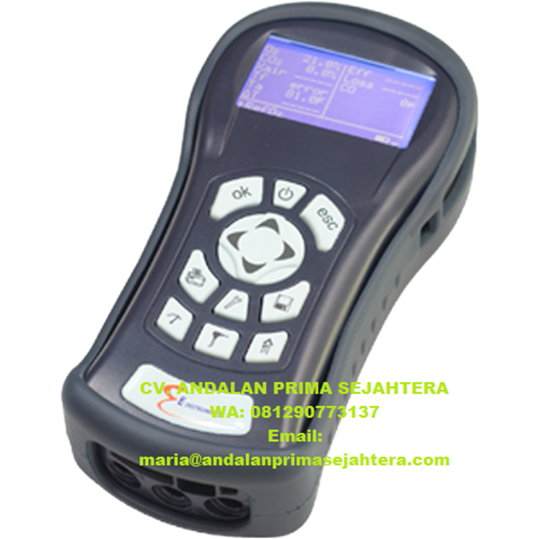 BTU 900-NOx Combustion Emissions & Safety Gas Analyzer