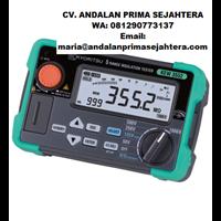 Digital Insulation / Continuity Testers KEW 3552