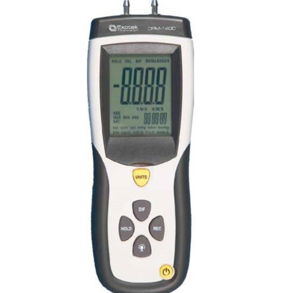 EXOTEK Digital Pressure Manometer DPM-1400