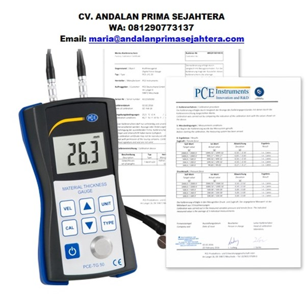 Pce Instruments Ultrasonic Thickness Tester PCE-TG 50