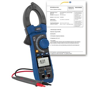 Pce Instruments Clamp Meter PCE-HVAC 6-ICA incl. ISO Calibration Certificate