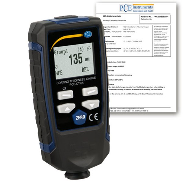 Pce Instruments Dry Film Thickness (DFT) Meter PCE-CT 65-ICA incl.