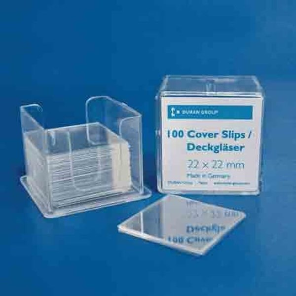 Duran COVER SLIPS Cover Slip are produced from pure white borosilicate glass (D263)