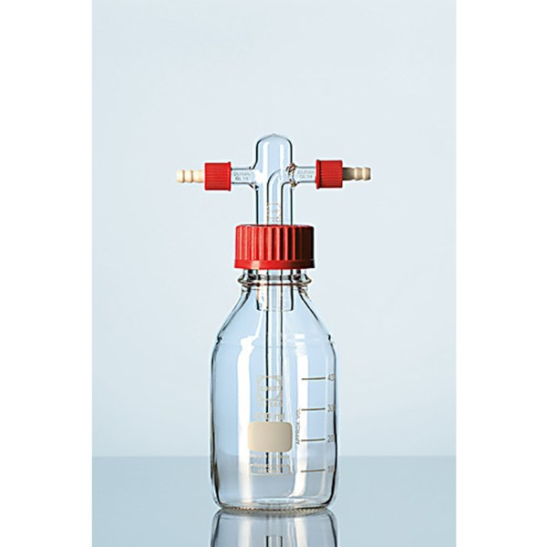 GAS WASHING BOTTLE  screw-cap