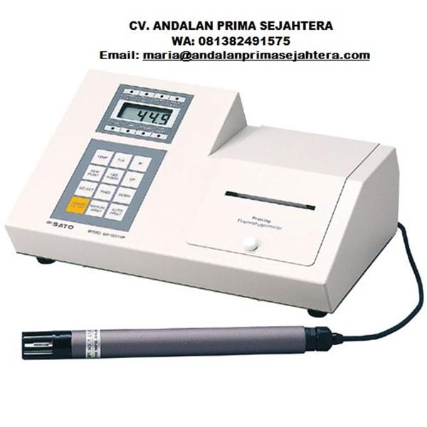 Sk Sato 8300-00 Desk-top type Digital thermohygropmeter Model SK-100THP