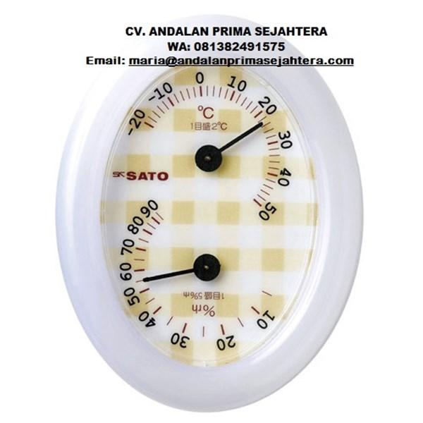 Sk Sato 1016-00Thermohygrometer (White)