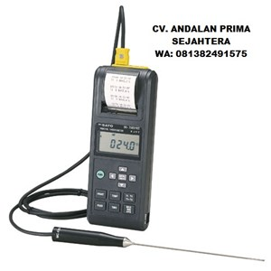 Sk Sato 8250-30Digital Thermometer Model SK-7000PRT II with Printer