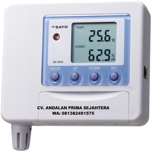 Sk Sato Temperature/Humidity Transmitter Model SK-RHC-V (Voltage output: 0 to 1VDC) (Probes are sold separately)