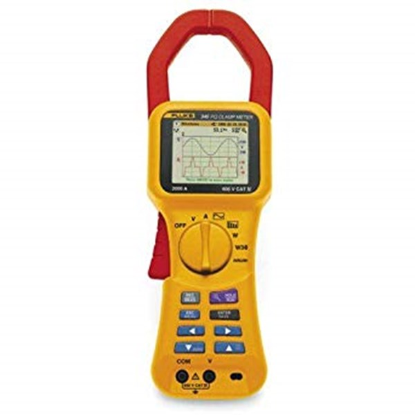Fluke 345 Power Quality Clamp Meter - Electronic Power Meter